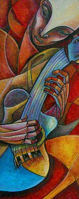 Acoustic Heat Poster by Roy Guzman