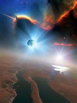 Active Comet Poster