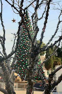 Activism Christmas Tree Poster by Munir Alawi