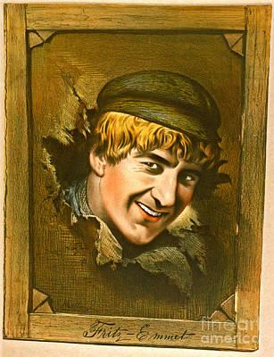 Actor Fritz-emmet 1880 Poster