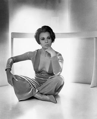 Actress Claire Bloom Poster by Underwood Archives