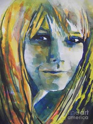 Actress Gwyneth Paltrow Poster by Chrisann Ellis