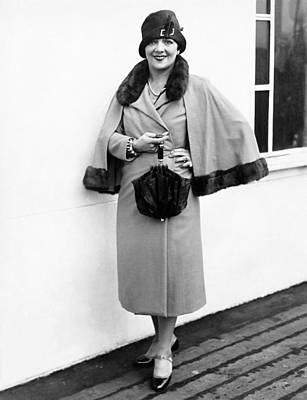 Actress Irene Bordoni Poster