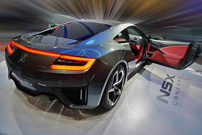 Acura N S X  Concept 2013 Poster