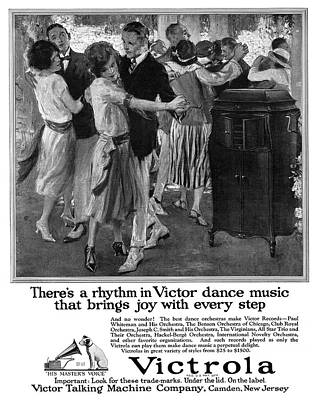 Ad Victrola, 1922 Poster