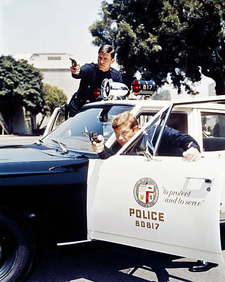 Adam-12  Poster by Silver Screen