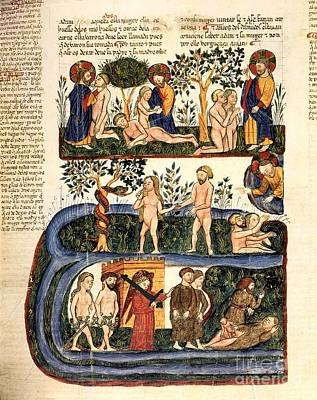 Adam And Eve, 1430 Artwork Poster