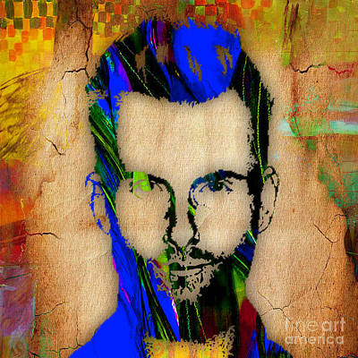 Adam Levine Painting Poster by Marvin Blaine