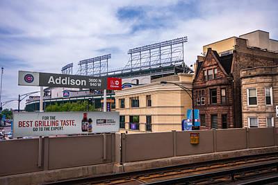 Addison Street Station Poster by Tom Gort