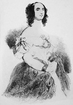 Adele Foucher Hugo (1804-1868) Poster by Granger