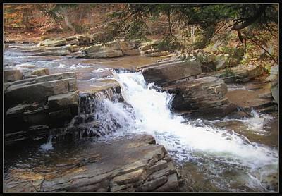 Adirondack Brook Falls Poster