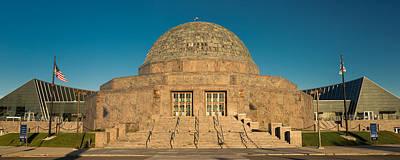 Adler Planetarium Chicago Il Poster