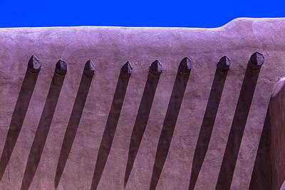 Adobe Wall Shadows Poster