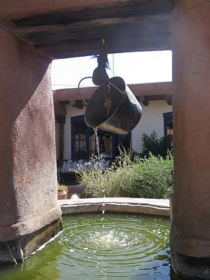 Adobe Water Well In New Mexico Poster