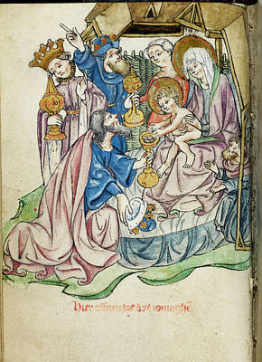 Adoration Of The Magi Poster by British Library