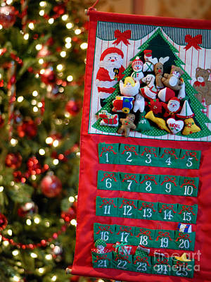 Advent Calendar Poster by Amy Cicconi