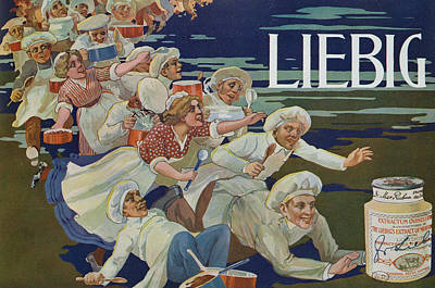 Advertisement For Extractum Carnis Liebig Poster