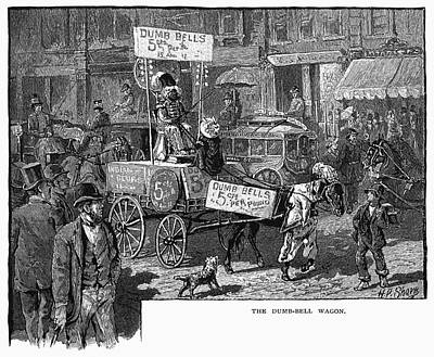Advertising Wagon, 1880 Poster by Granger