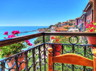 Aegean Paradise Poster
