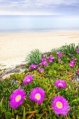 Aegean Sea Coast In Greece Poster