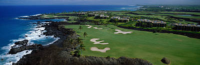 Aerial Francis H Li Brown Golf Course Poster by Panoramic Images