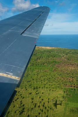 Aerial Of Ha'apai, Tonga, South Pacific Poster by Michael Runkel