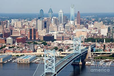 Aerial Of Philadelphia Pennsylvania Poster