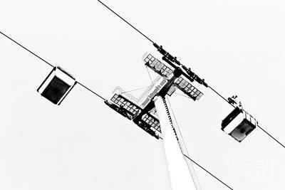 Aerial Tramway Poster by Jose Elias - Sofia Pereira