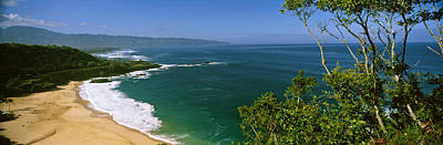Aerial View Of A Beach, North Shore Poster by Panoramic Images