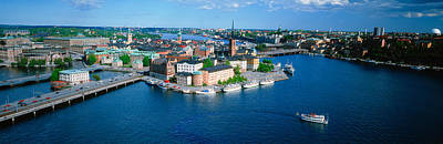 Aerial View Of An Island, Riddarholmen Poster by Panoramic Images