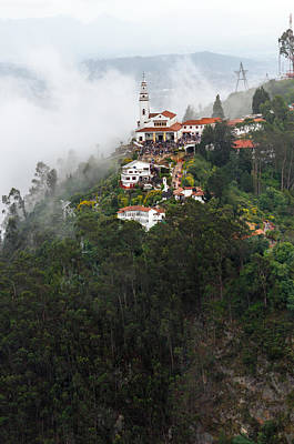 Aerial View Of Monserrate Church Poster by Jess Kraft