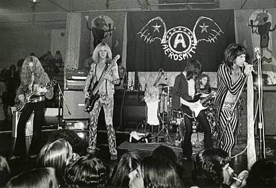 Aerosmith - Aerosmith Tour 1973 Poster by Epic Rights