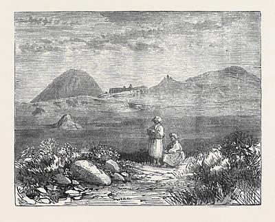 Afghan Sketches The Ahin Posh Tope And Vihara Poster