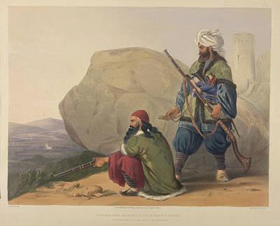 Afghaun Foot Soldiers Poster