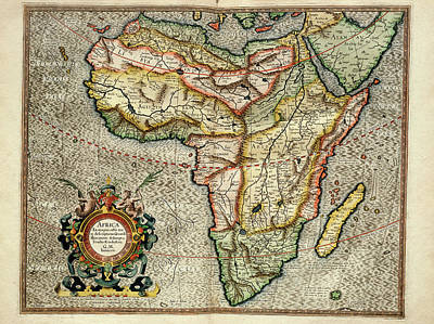 Africa Poster by Library Of Congress, Geography And Map Division
