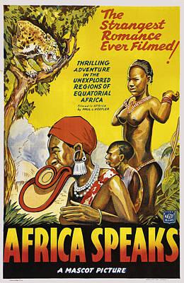 Africa Speaks Poster