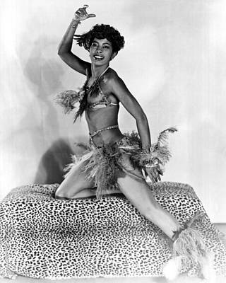 African American Woman Dancer Poster