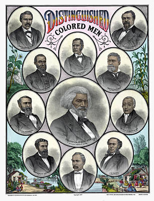 African Americans, C1883 Poster