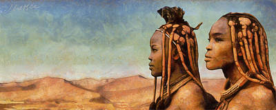 African Beauty Poster