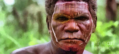African Man Poster