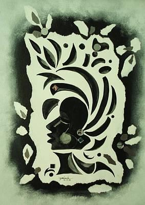 African Queen Poster by Yolanda Rodriguez