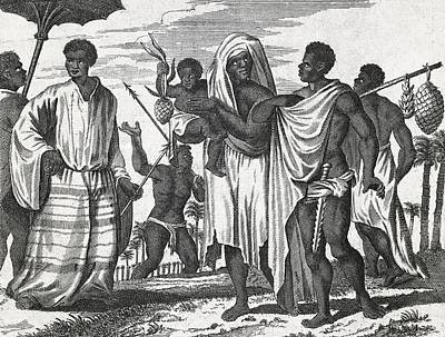 African Zenega People, 17th Century Poster by Science Photo Library
