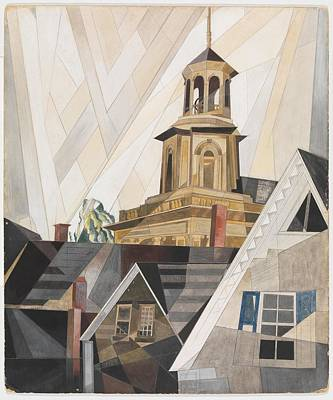 After Sir Christopher Wren Poster by Charles Demuth