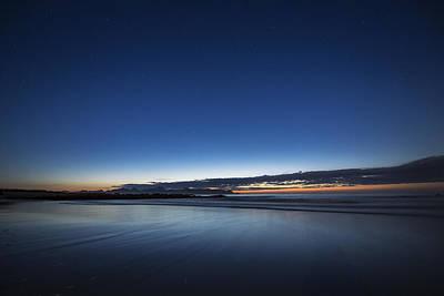 After Sunset Poster by Frank Olsen