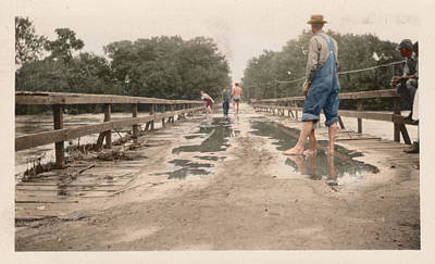Poster featuring the photograph After The Flood by Ron Crabb