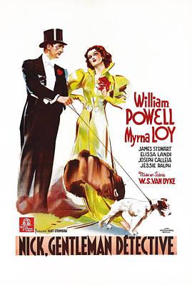 After The Thin Man, Aka Nick, Gentleman Poster by Everett