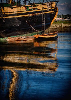 Afternoon Friendship  Reflection Poster by Jeff Folger