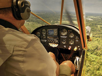 Afternoon In A J3 Cub Poster
