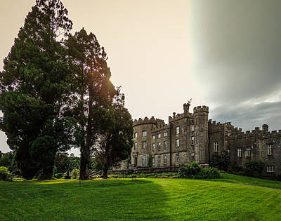 Afternoon Sun Over Markree Castle Poster