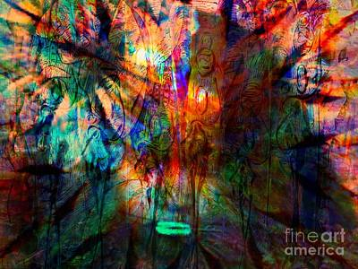 Again Innocene In Madness Poster by Fania Simon